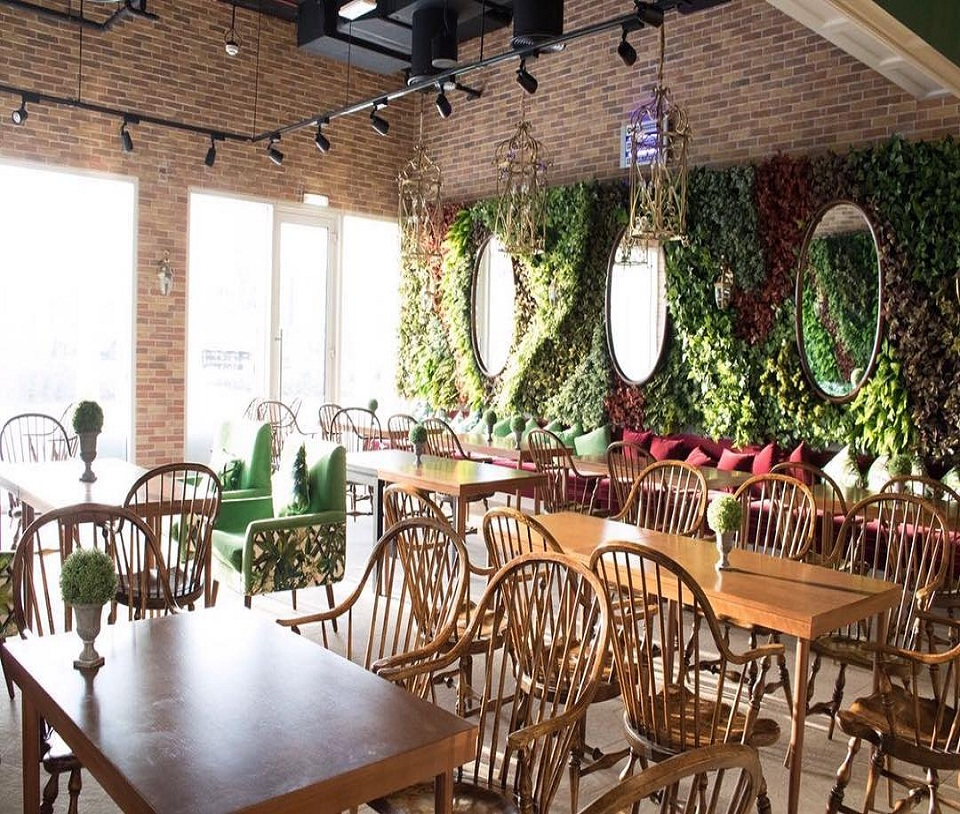 La Terrasse - Open and Green Restaurant Image